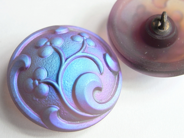 チェコガラスボタン